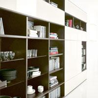 Шкафы в кабинет: мебель для библиотеки кабинета