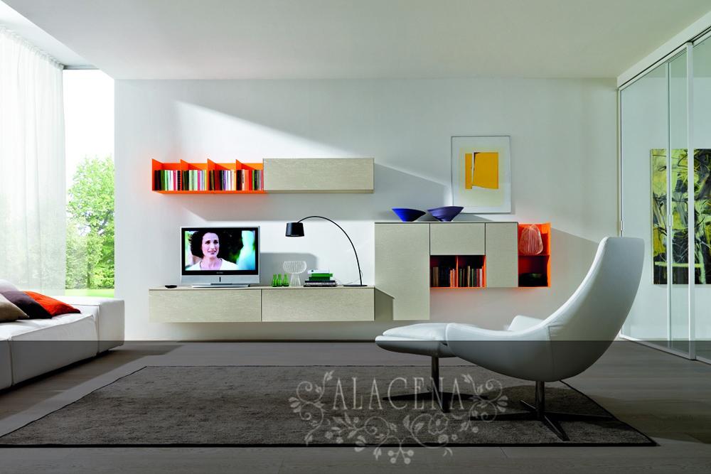 Дизайн зоны телевизора